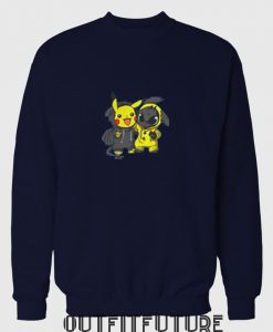 Baby Toolhless and Baby Pikachu Sweetshirt