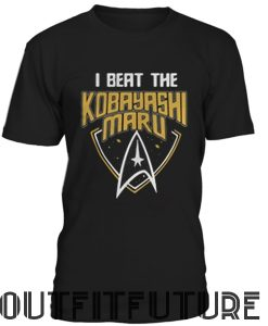 I beat the Kobayashi Maru T-SHIRT
