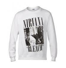 Nirvana Bleach Sweatshirt On Sale