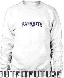 Patriots sweatshirt no hood
