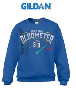 Since 1989 oldometer 30 awesome sweatshirt