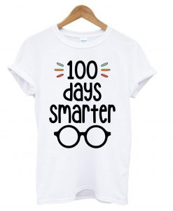 100 Days Smarter- 100 Days of School T shirt BC19