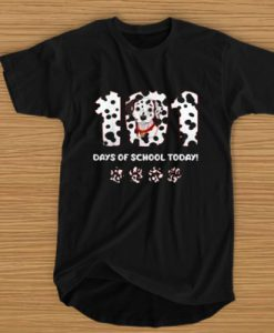 101 DAYS OF SCHOOL TODAY T-SHIRT BC19