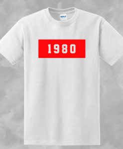 1980 T-SHIRT FOR MEN AND WOMEN BC19