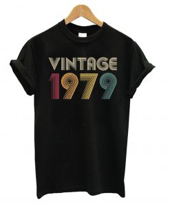 40th Birthday Gift Vintage 1979 T shirt BC19