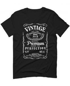 40th Birthday Gift for women Vintage hipster Classic tshirt 1977 For men T Shirt BC19