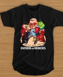 A FATHER OF HEROES T-SHIRT BC19