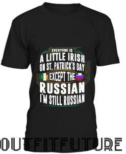 A Little Irish on Saint Patrick Day T-Shirt