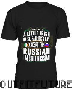 A Little Irish on Saint Patrick Day T-Shirt