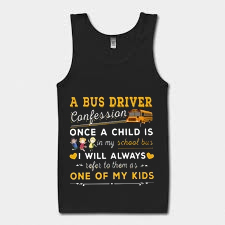 A bus driver confession once a child Tank Top