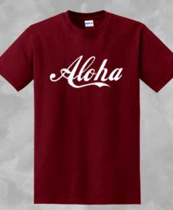 ALOHA T-SHIRT FOR MEN AND WOMEN BC19