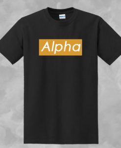ALPHA T-SHIRT FOR MEN AND WOMEN BC19