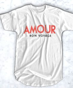 AMOR BON VOYAGE T-SHIRT FOR MEN AND WOMEN BC19