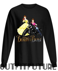 Beauty and the Beast Motorcycle Belle Sweetshirt