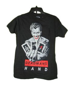 Details about The Joker Deadmans Hand T-shirt Size Small Nwot BC19