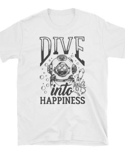 Dive Into Happiness Short-Sleeve Unisex T-Shirt BC19