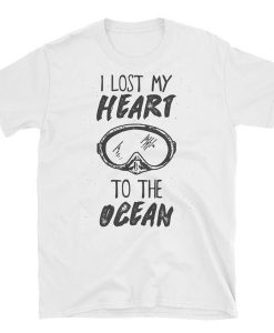 I Lost My Heart To The Ocean Short-Sleeve Unisex T-Shirt BC19