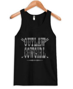 Outlaw CowGirl Tank top BC19