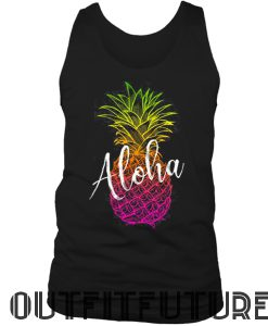 Pineapple Shirt, Aloha Tank Top