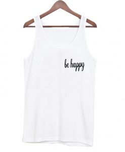 be happy tanktop BC19be happy tanktop BC19