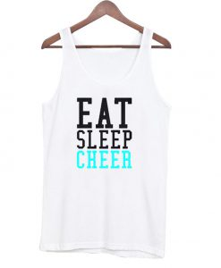 eat sleep Cheer Tanktop BC19