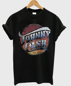 johnny cash ring of fire t-shirt BC19