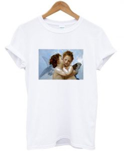 Angel Painting First Kiss T Shirt