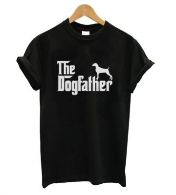 Weimaraner Dogfather T shirt