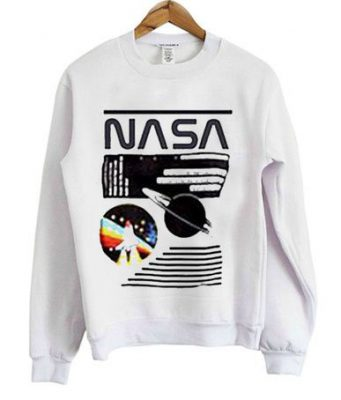Nasa rocket sweatshirt