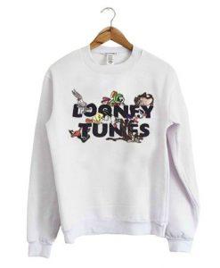 Looney tunes white sweatshirt