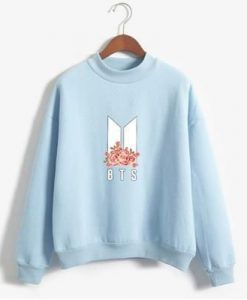 BTS ARMY Floral Pullover