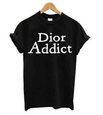 Authentic Christian Dior addict T shirt