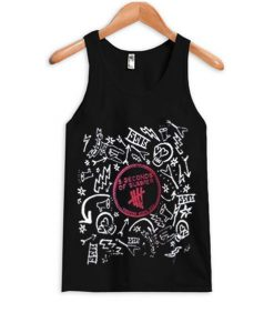 5 Seconds Of Summer band tank-top BC19