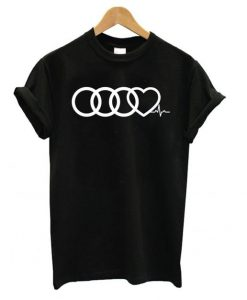 Audi Heart Beat T shirt