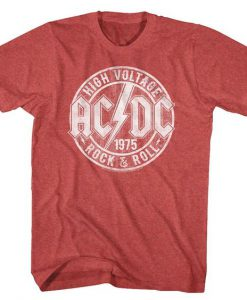 ACDC 1975 Rock and Roll T-Shirt BC19