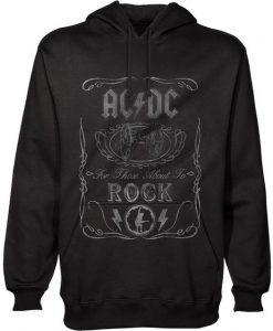 AC/DC Men's Hooded Top BC19