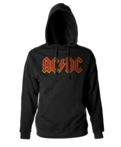 ACDC Red Logo Pullover Hoodie BC19