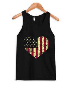 America Heart Tank Top BC19