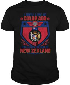 Colorado New Zealand T-Shirt BC19