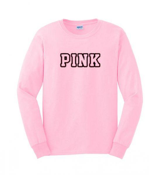 Comfort pink sweatshirt BC19