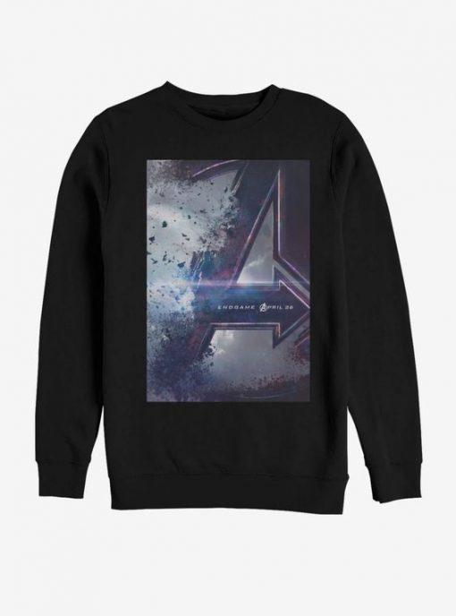 Marvel Avengers Endgame Poster Sweatshirt BC19