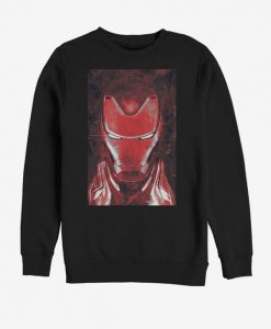 Marvel Avengers Endgame Red Iron Man Sweatshirt BC19