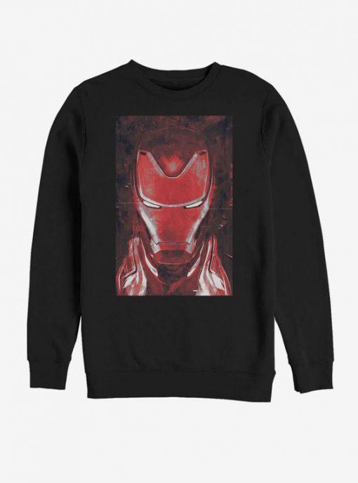Marvel Avengers Endgame Red Iron Man Sweatshirt BC19