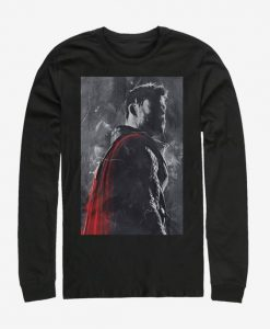 Marvel Avengers Endgame Thor Painted Sweatshirt BC19
