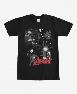 Marvel Avengers Grayscale T-Shirt BC19