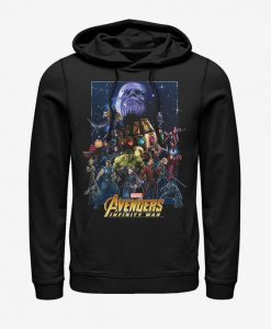 Marvel Avengers : Infinity War Character Collage Hoodie BC19