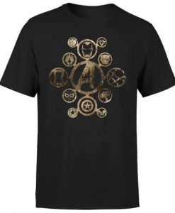 Marvel Avengers Infinity War Icon T-shirt BC19