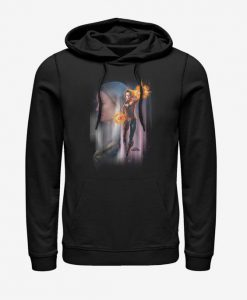 Marvel Captain Marvel Galaxy Hoodie BC19