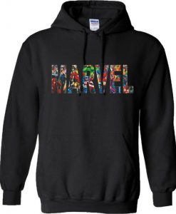 Marvel Comics Characters Hoodie BC19