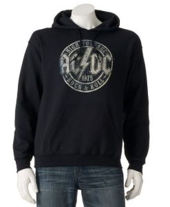 Men's AC/DC Pullover Hoodie BC19